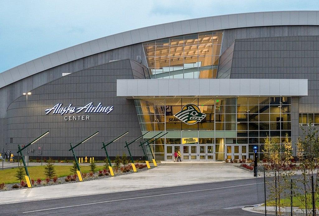 Alaska Airlines Center Flannery Trim
