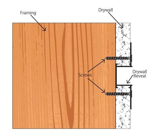 how to cut drywall already installed