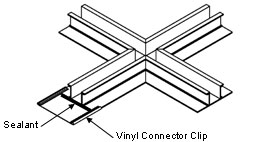 vinyl connector clips 2 - Maufacturer's Specifications & LEED Information