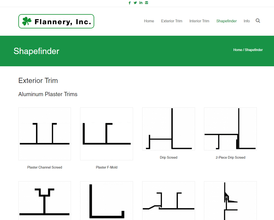 Using Our Shapefinder Tool | Flannery Trim